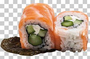 California Roll Smoked Salmon Sashimi Sushi Lox PNG