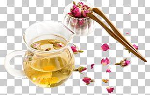 Flowering Tea Oolong Longjing Tea Beach Rose PNG