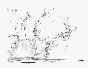 Splashes PNG