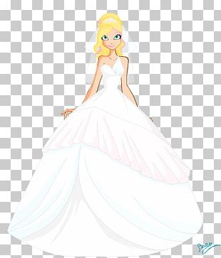 Wedding Dress Costume Design Gown Bride PNG