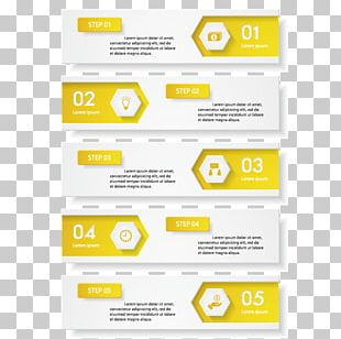 Yellow Infographic PNG