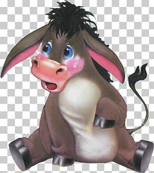 Drawing Animated Cartoon Donkey Blog PNG