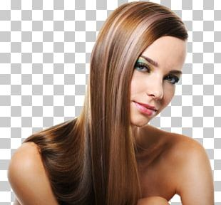Hair Highlighting Brown Hair Beauty Parlour Hair Coloring PNG