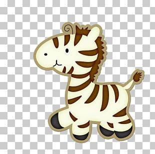 Zebra Lion Drawing Illustration PNG