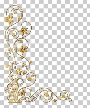 Frames Decorative Arts Gold Leaf PNG