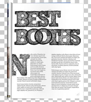 Paper Graphic Design Typeface Font PNG