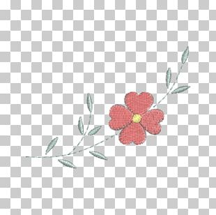 Flower Embroidery Ornament Petal Pattern PNG