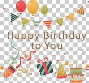 Happy Birthday To You Wish Greeting Card Happiness PNG