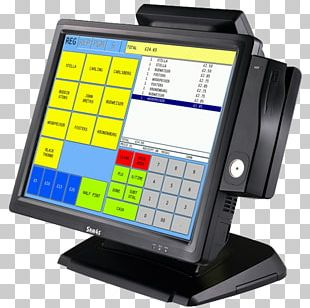 Cash Register Point Of Sale Till Roll Retail Barcode Scanners PNG