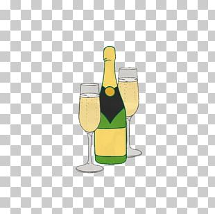 Champagne Beer Bottle Cocktail Wine PNG