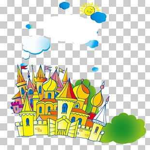 Castle Illustration PNG