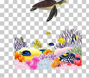 Sea Turtle Euclidean PNG