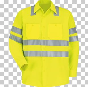 T-shirt High-visibility Clothing Workwear PNG