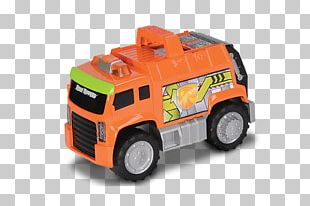 Motor Vehicle Model Car Garbage Truck Toy PNG