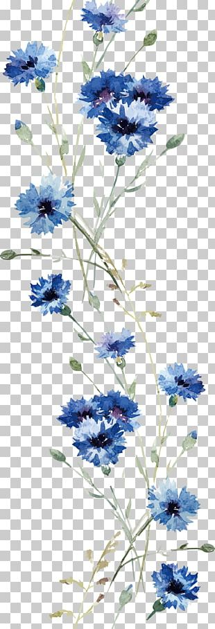 Flower Wall Decal PNG