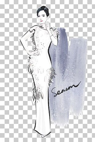 Woman Skirt Drawing Illustration PNG