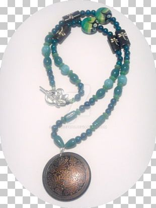 Turquoise Necklace Bead Bracelet PNG