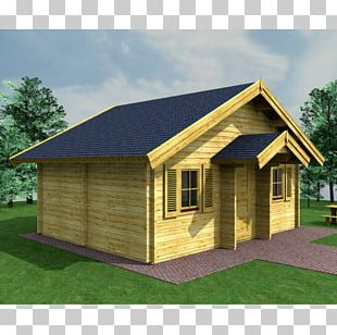 Log Cabin House Storey Bungalow Roof PNG