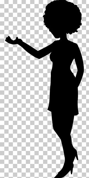 Silhouette Woman Female PNG