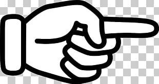 Index Finger Pointing Hand Digit PNG