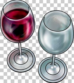 Wine Glass Champagne Glass Wine Tasting PNG