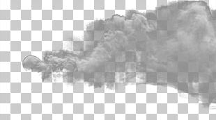 White Black Sky Fur Font PNG