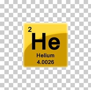Helium Chemical Element Symbol Periodic Table Chemistry PNG
