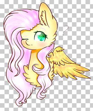 Horse Line Art Fairy PNG