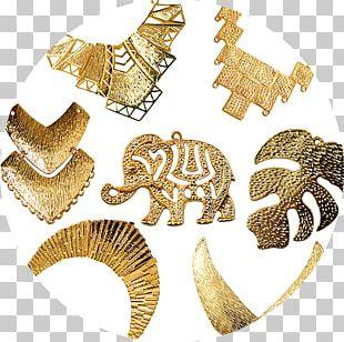 Bijou Gold Jewellery Bitxi Material PNG