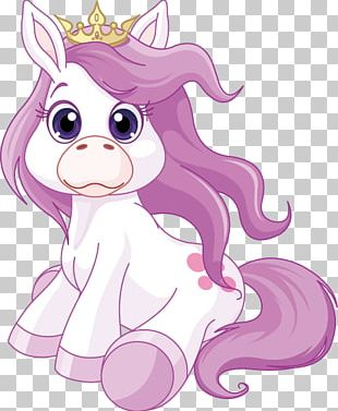 Horse Pony Cartoon Illustration PNG