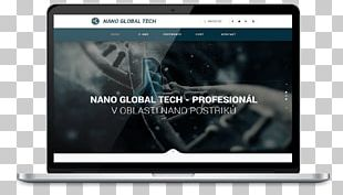 Responsive Web Design Landing Page Web Template System PNG