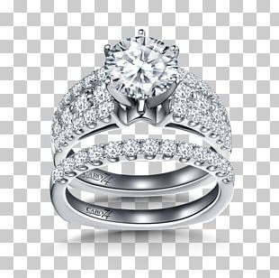 Wedding Ring Silver Gold PNG
