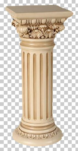 China Column Marble Sculpture Stone Carving PNG