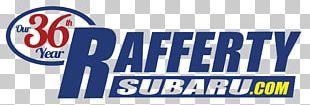 Rafferty Subaru Logo Brand Banner Organization PNG