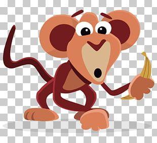 Amazing Monkeys Drawing PNG