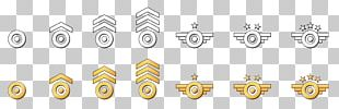 Military Aircraft Soldier Badge Army PNG