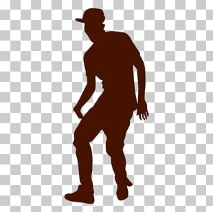 Silhouette Man Dance Party Breakdancing PNG