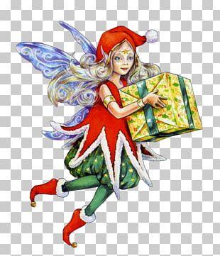 Fairy Santa Claus Lutin Père Noël Elf PNG