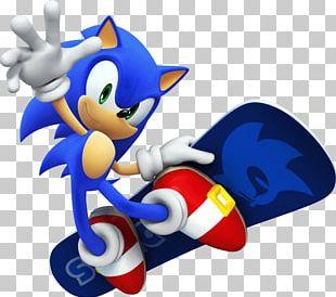 Sonic Hedgehog Surf PNG