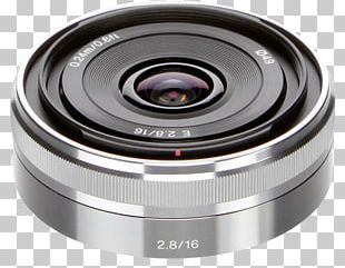 Camera Lens Sony α6000 Sony E-mount Sony E Wide-Angle 16mm F/2.8 PNG