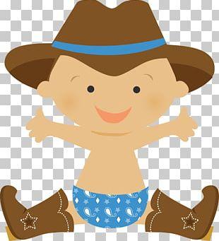 Cowboy Infant Western PNG