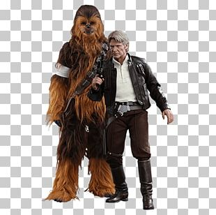 Han Solo Chewbacca Action & Toy Figures Hot Toys Limited Star Wars PNG