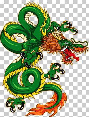 Chinese Dragon China Feng Shui Japanese Dragon PNG
