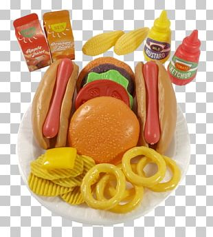 Fast Food French Fries Hot Dog Hamburger Junk Food PNG
