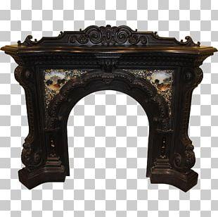 Fireplace Mantel Fireplace Insert Cast Iron Electric Fireplace PNG