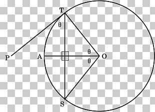 Triangle Point Tangent Lines To Circles PNG
