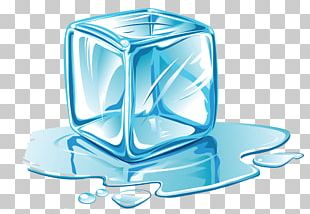 Ice Cube Melting PNG
