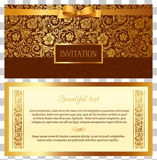 Wedding Invitation Euclidean Ornament PNG