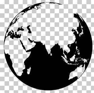 Globe World Map PNG