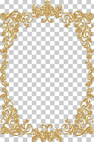 Frames Gold Vintage Ornament PNG